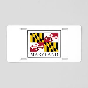 Maryland Aluminum License Plate