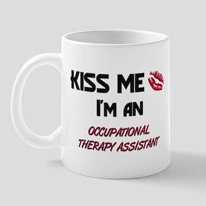 Kiss Me I'm a OCCUPATIONAL THERAPY ASSISTANT Mug
