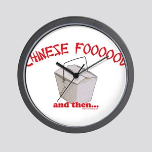 Chinese Foooood Wall Clock