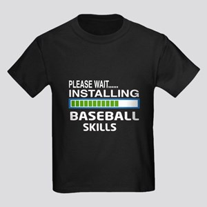 Please wait, Installing baseball Kids Dark T-Shirt