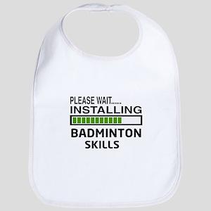 Please wait, Installing Badminton Skills Bib