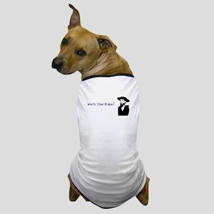 who's your rabbi Dog T-Shirt