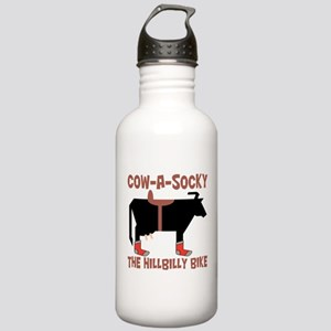 Cow A Socky Hillbilly Stainless Water Bottle 1.0L