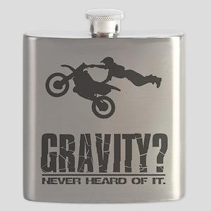 Gravity? Motocross Flask