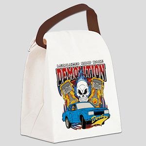 Demolition Derby Canvas Lunch Bag