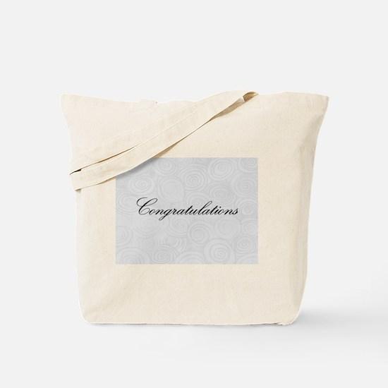 Congratulation Swirls Tote Bag
