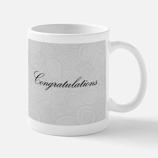 Congratulation Swirls Mugs