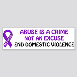 PRODUCTS/Domestic Violence Aw Bumper Sticker