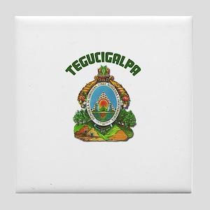 Tagucigalpa, Honduras Tile Coaster