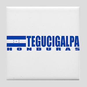 Tegucigalpa, Honduras Tile Coaster