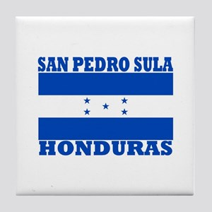 San Pedro Sula, Honduras Tile Coaster