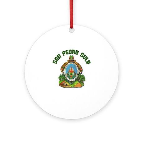 San Pedro Sula, Honduras Ornament (Round)