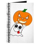 Ghost Jack-O-Lantern Journal