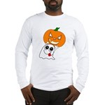 Ghost Jack-O-Lantern Long Sleeve T-Shirt