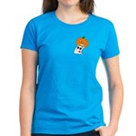 Ghost Jack-O-Lantern Women's Dark T-Shirt