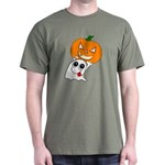 Ghost Jack-O-Lantern Dark T-Shirt