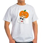 Ghost Jack-O-Lantern Light T-Shirt