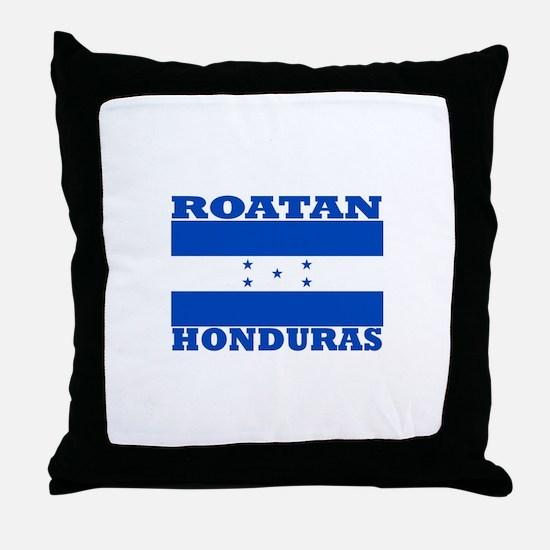 Roatan, Honduras Throw Pillow