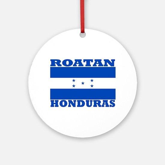Roatan, Honduras Ornament (Round)