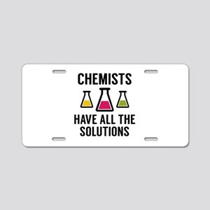 Chemists Have All The Solutions Aluminum License P