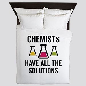 Chemists Have All The Solutions Queen Duvet