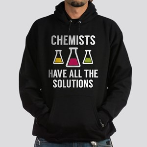 Chemists Have All The Solutions Hoodie (dark)