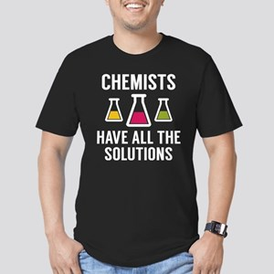 Chemists Have All The Solutions Men's Fitted T-Shi