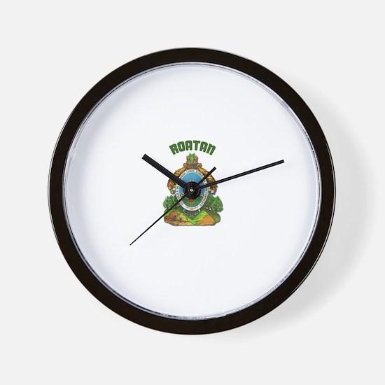 Roatan, Honduras Wall Clock