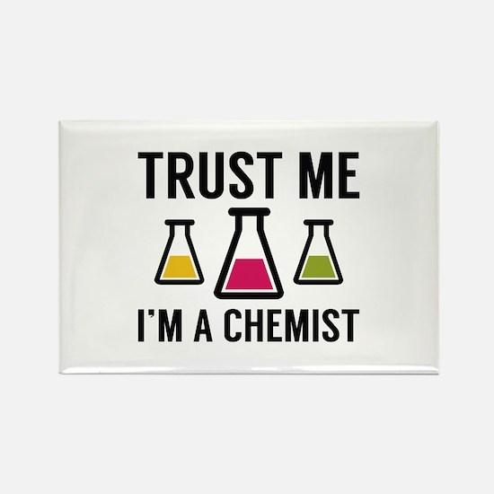 Trust Me I'm A Chemist Rectangle Magnet