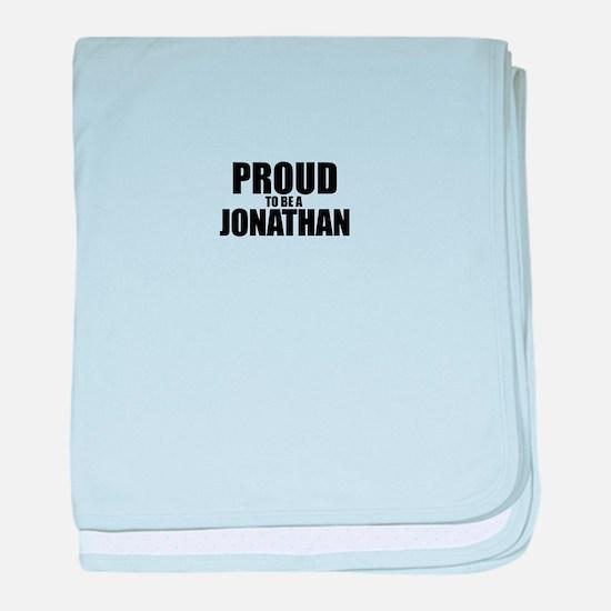 Proud to be JONAH baby blanket