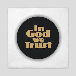 In God We Trust Queen Duvet