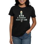 Merry Kiss My Ass Women's Dark T-Shirt