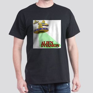 Illegal Alien Invasion T-Shirt (Grey) T-Shirt