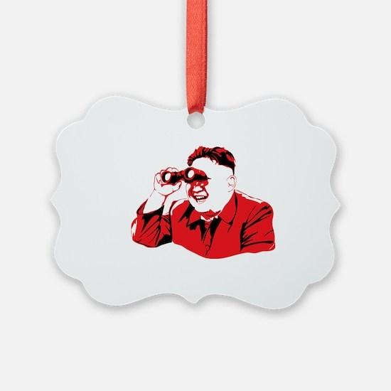North korea Ornament