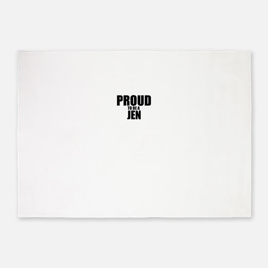 Proud to be JEN 5'x7'Area Rug
