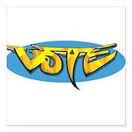 Design 160322 - Vote Square Car Magnet 3