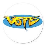 Design 160322 - Vote Round Car Magnet