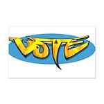 Design 160322 - Vote Rectangle Car Magnet