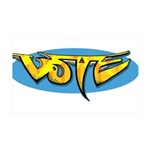 Design 160322 - Vote Wall Decal