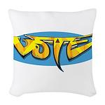 Design 160322 - Vote Woven Throw Pillow