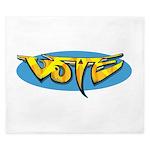 Design 160322 - Vote King Duvet
