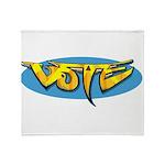 Design 160322 - Vote Throw Blanket