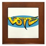 Design 160322 - Vote Framed Tile