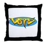 Design 160322 - Vote Throw Pillow