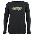 Design 160322 - Vote Plus Size Long Sleeve Tee