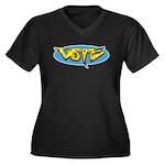 Design 160322 - Vote Plus Size T-Shirt