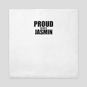 Proud to be JASMIN Queen Duvet