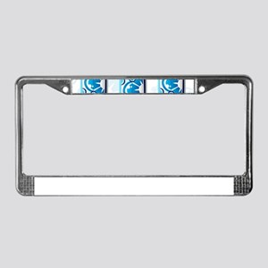 Surfboards License Plate Frame