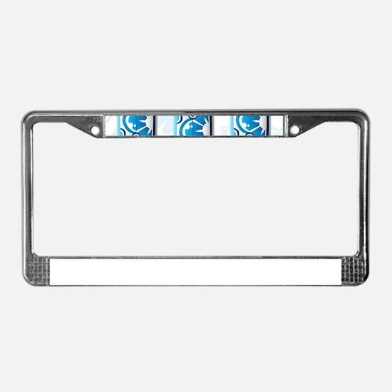 Surfboards License Plate Frame