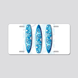 Surfboards Aluminum License Plate
